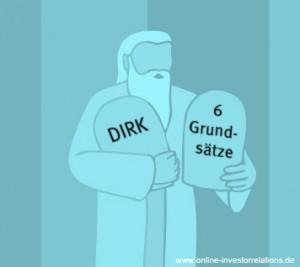 Grundsätze der Investor Relations nach DIRK - online-investorrelations.de