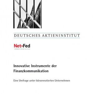 Innovative Instrumente der Finanzmarktkommunikation
