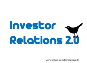 Twitter als erfolgreiches Social Media Tool in den Investor Relations