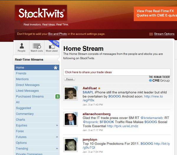 Micro-Blogging Dienst StockTwits - www.online-investorrelations.de