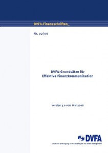 PDF DVFA Grundsätze effektiver Finanzkommunikation