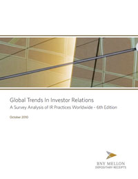 Global Trends In Investor Relations 2010