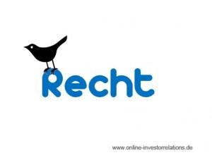 Rechtliches zu Social Media in IR