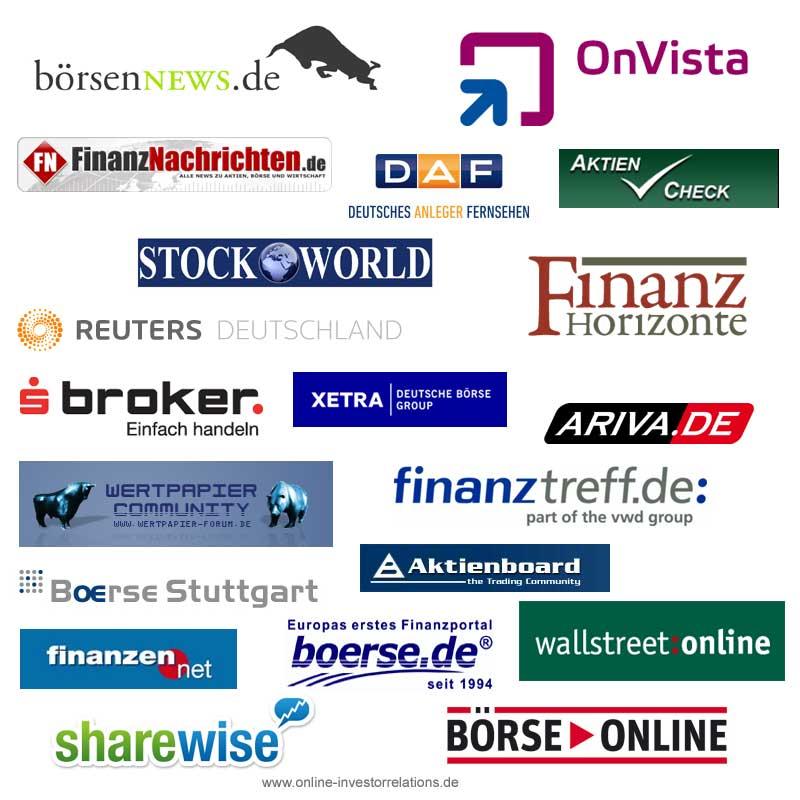 Deutsche Online Börsen- und Finanzportale - www.online-investorrelations.de