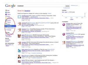 Social Media Google SEO in den Investor Relations (IR)