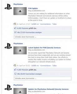 Sony Facebook Krisenkommunikation