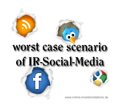 7 steps to the worst case scenario of IR-Social-Media