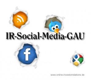 Investor Relations Social Media GAU