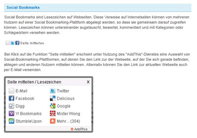 Social Bookmarking bei Bayer IR