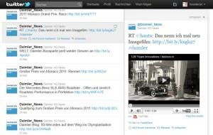 Daimler IR-Twitter - www.online-investorrelations.de