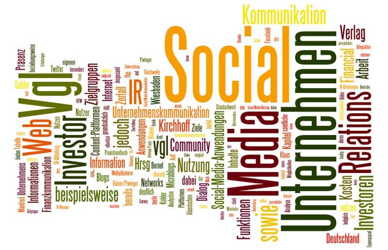 Investor-Relations Social Web