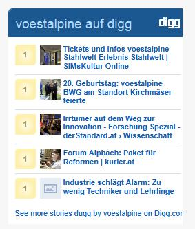 voestalpine Innovation digg
