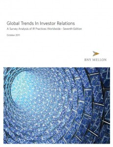 BNY Mellon Studie 2011 - Global Trends In Investor Relations